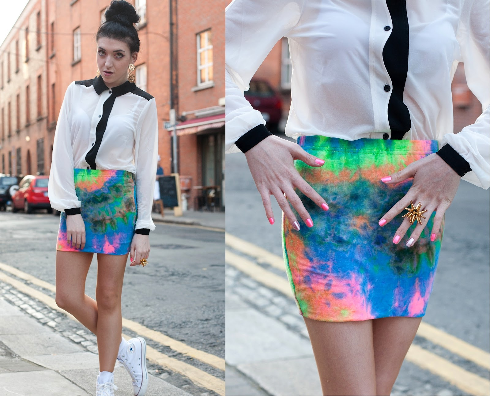To acquire Wear you Trendswould tie dyed jeans picture trends