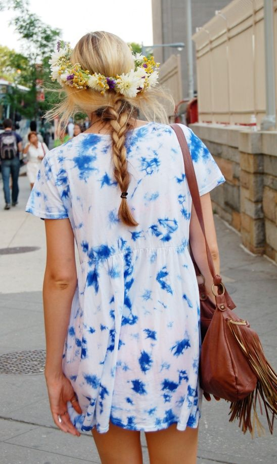 Tie-Dye Summer Women Outfits