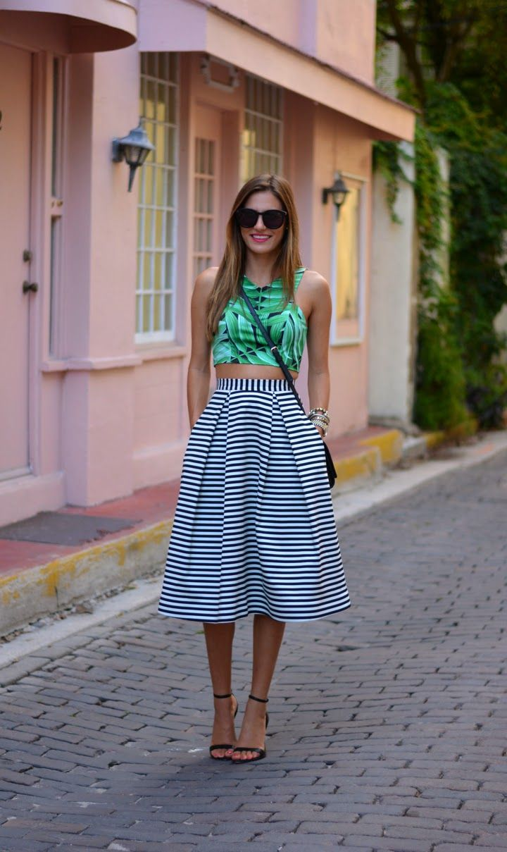 864d04658483 10 Ways to Wear Full Skirts 2019   Become Chic