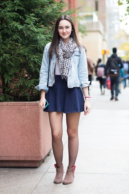What Shoes to Wear With Fall Skirts