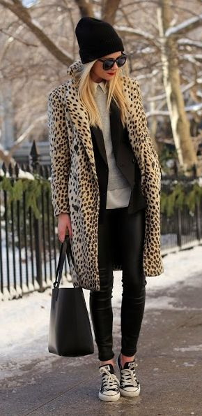 What to Wear With Leggings This Winter