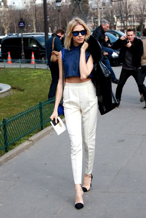 How To Wear White Pants This Fall 2017 | Become Chic
