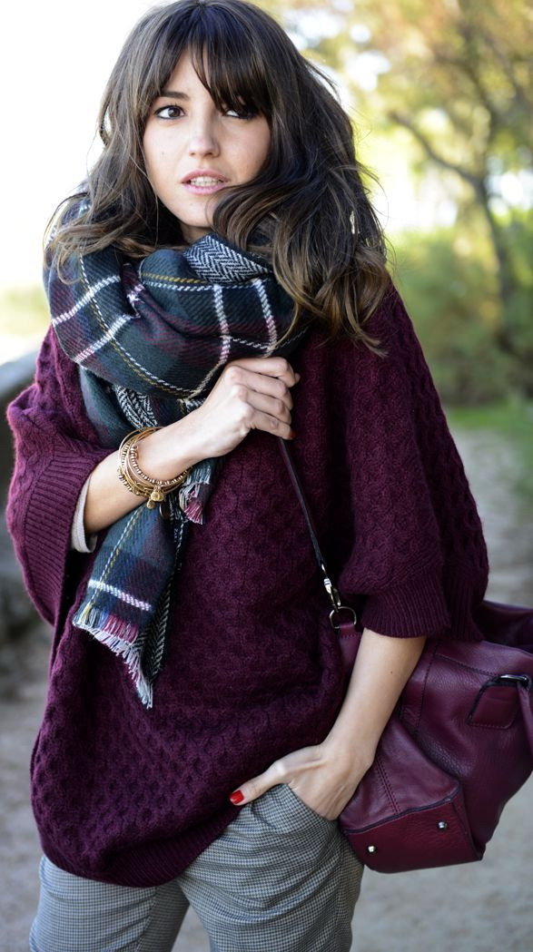 Wrap Up in Style With Fall Scarves 2021