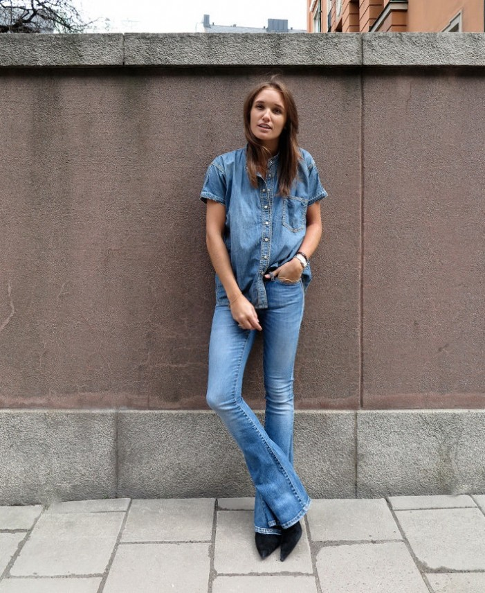 20 Ways To Wear Denim on Denim Trend 2020