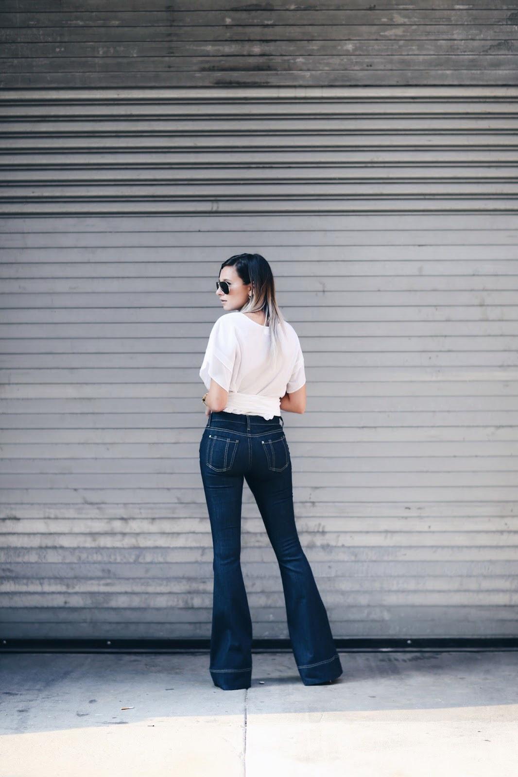blake flair jeans