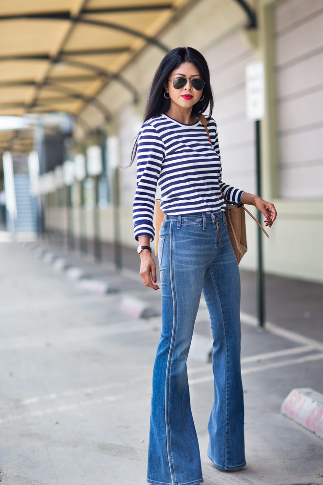 My Favorite Flared Jeans To Wear From Day To Evening