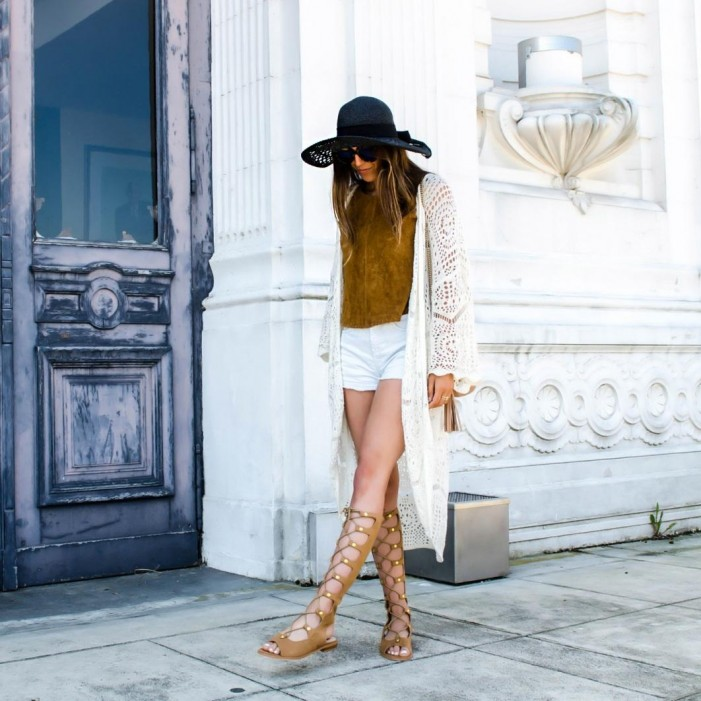 7 Powerful Pairs of Gladiator Sandals to Buy Now