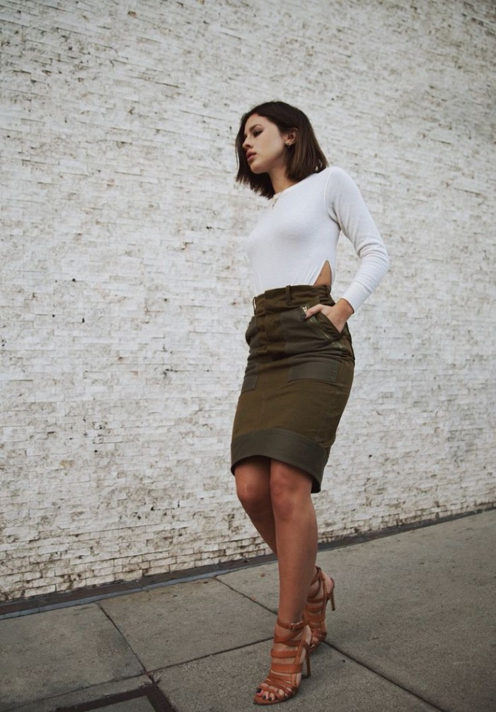 Khaki Smart-Casual Street Style Looks