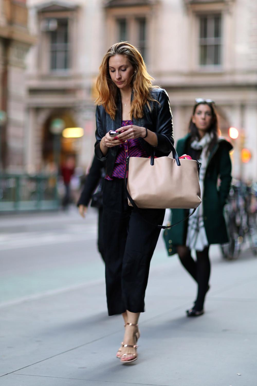 Leather jacket street style - 52 Ways To Wear A Leather Jackets