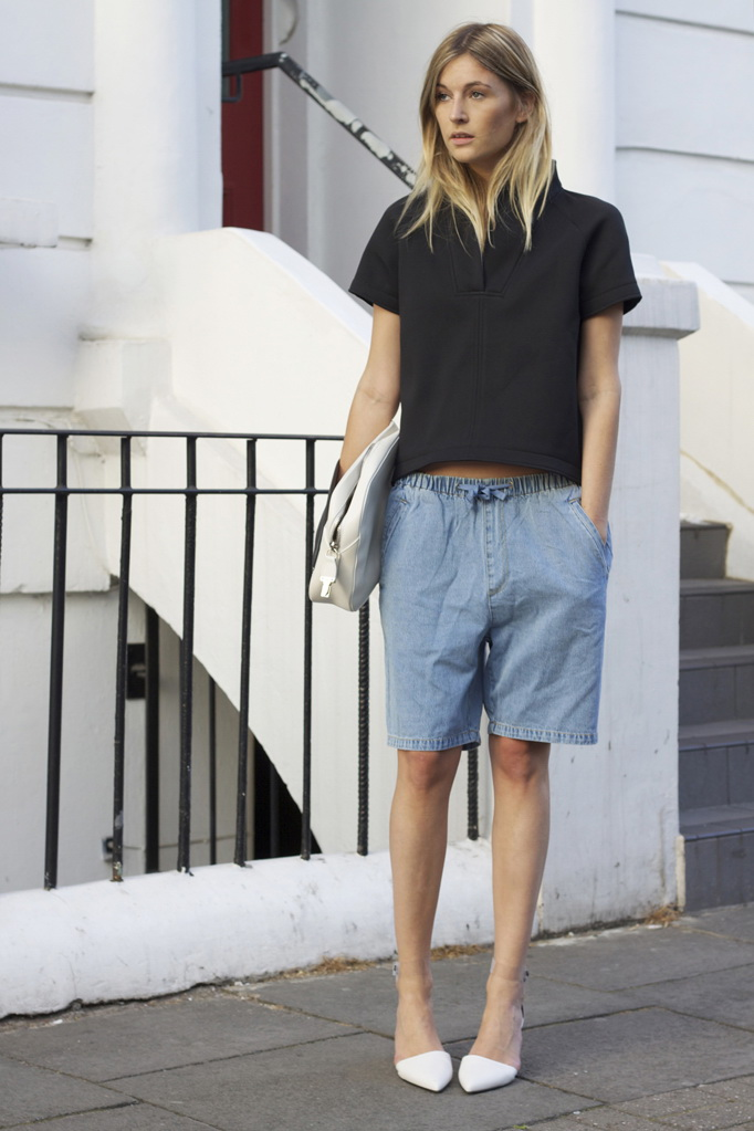 Want: Long Shorts For Women