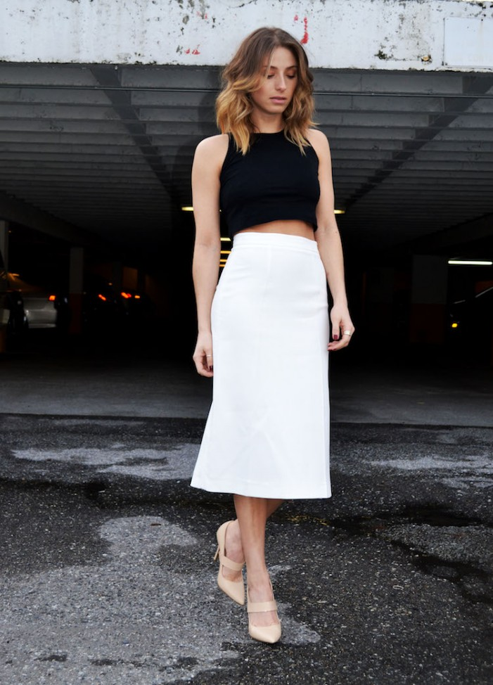 Midi Skirts Ideal For Street Wear