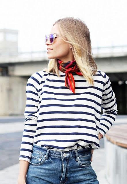 Go-To Accessory: Neck Scarves That'll Instantly Boost Your Cool Factor