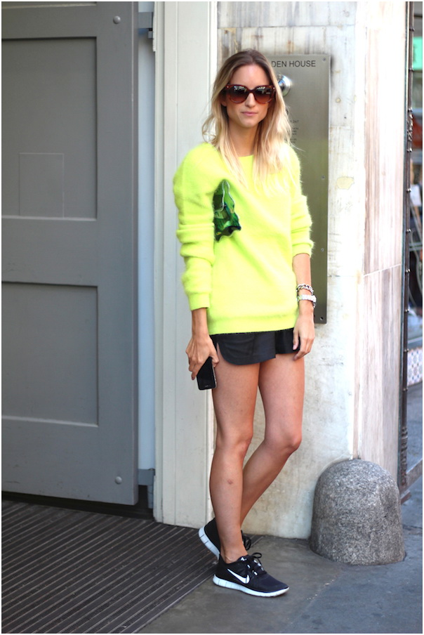 All You Need Is A Neon-Yellow Sweater 2019