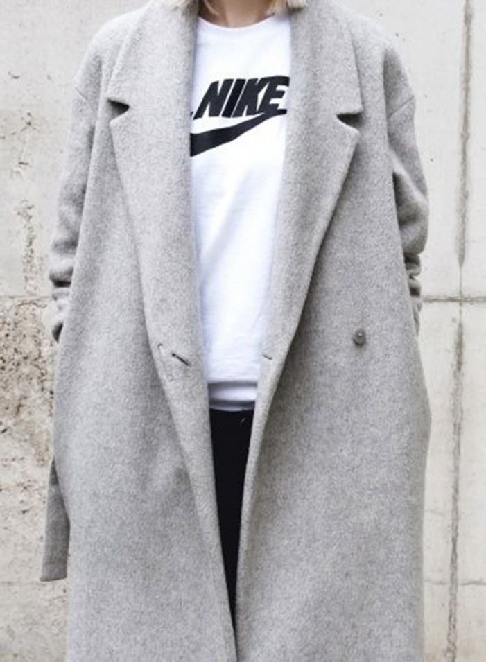 14 Oversized Grey Coats For Women to Stay Warm and Look Chic 2019