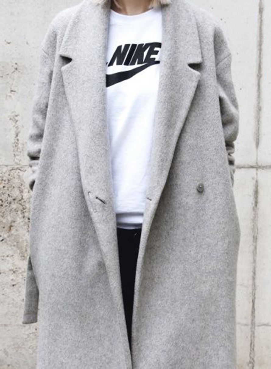 14 Oversized Grey Coats For Women to Stay Warm and Look Chic 2017