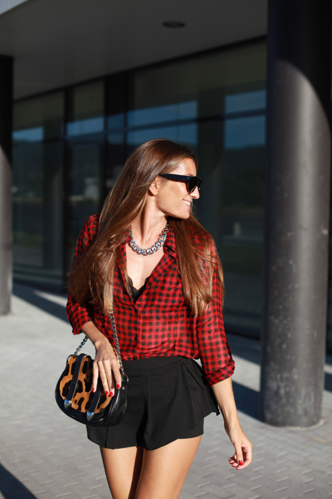 Trend Spotting: Red-Colored Tartan, Gingham and Plaid Print 2020