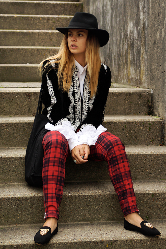 Trend Spotting: Red-Colored Tartan, Gingham and Plaid Print