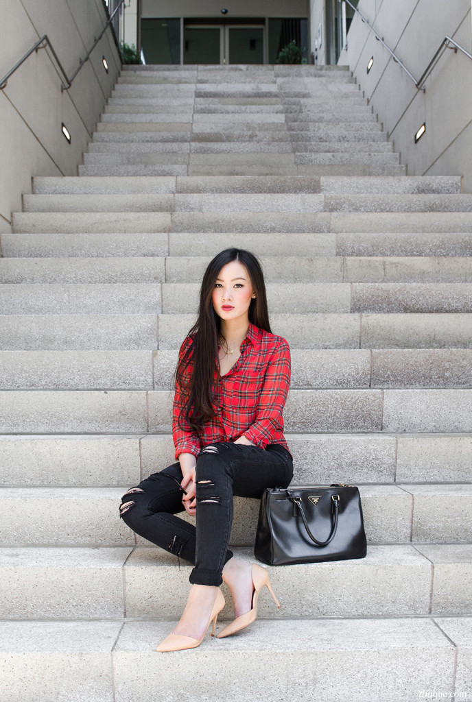 Trend Spotting: Red-Colored Tartan, Gingham and Plaid Print 2019