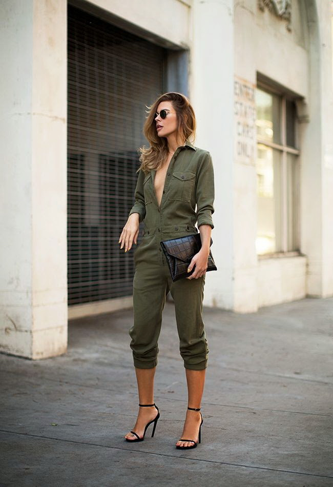 My 7 Favorite Utility Jumpsuits This Season