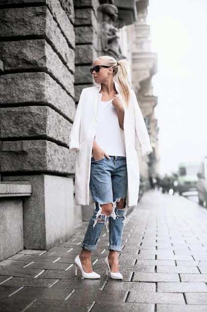 Trend Spotting: White Heels Are Here To Stay