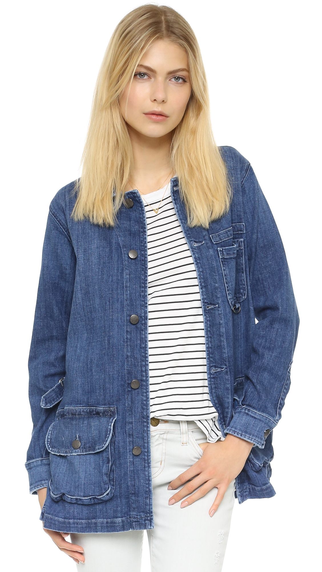 Denim jackets for ladies – Modern fashion jacket photo blog