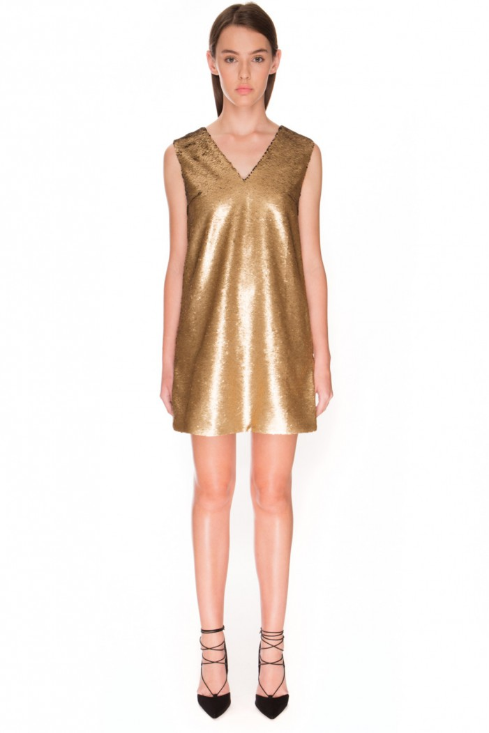10 Best Gold Dresses For New Years Eve