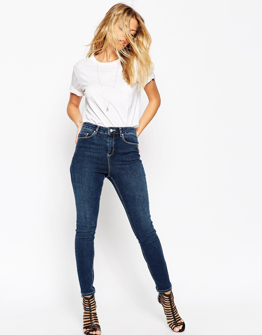 American Eagle's jeans are extremely well-made--hey, they're good enough for Zoe Saldana!--but won't break the bank. They're already priced under $50, but with their frequent promotions (like $10 off all jeans or buy one, get one half off), you can usually score 'em for even less.