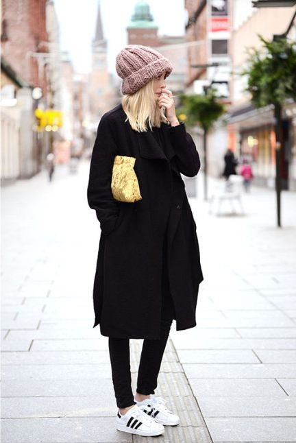 Black Coats For Women To Try This Year