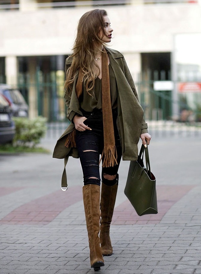 How To Wear Brown Boots 2021