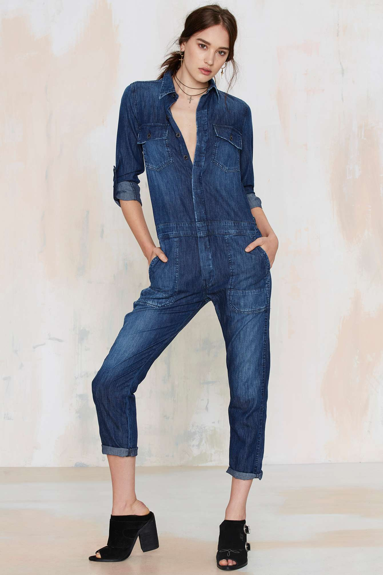 Tight jumpsuits are made from rayon spandex so they will be stretchy and give you room to move. A Women's jumpsuit doesn't have to be something you would see Cat woman where, there are loos fitting jumpsuits that can be worn in a casual environment.