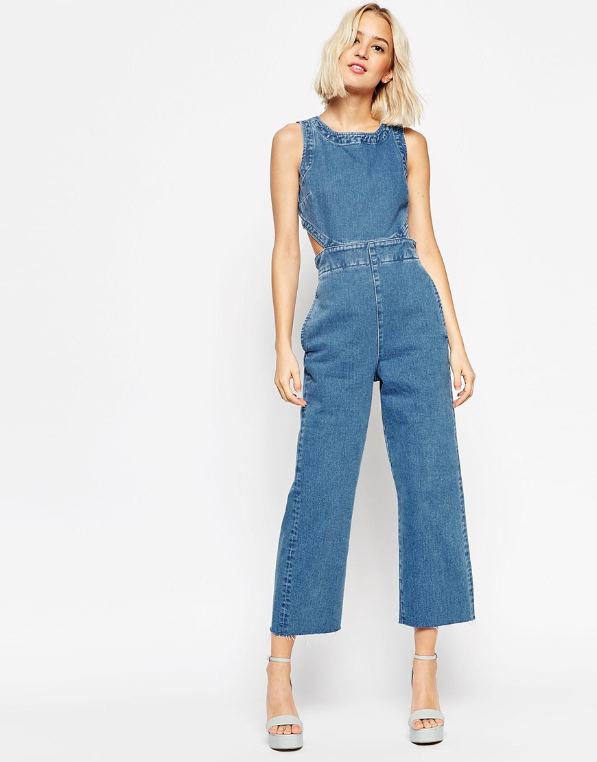 3110b852e089 Denim Jumpsuits For Spring-Summer 2019