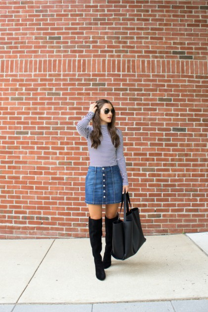 Denim Skirt Trend: Best Ways To Dress It Up