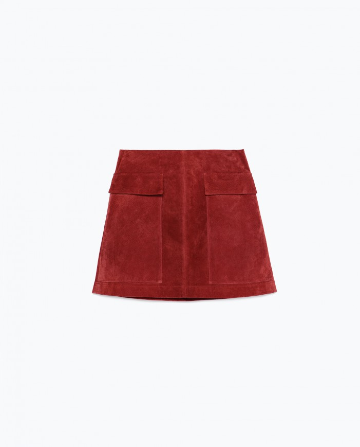 Suede Skirts Fall Fashion Trend 2021