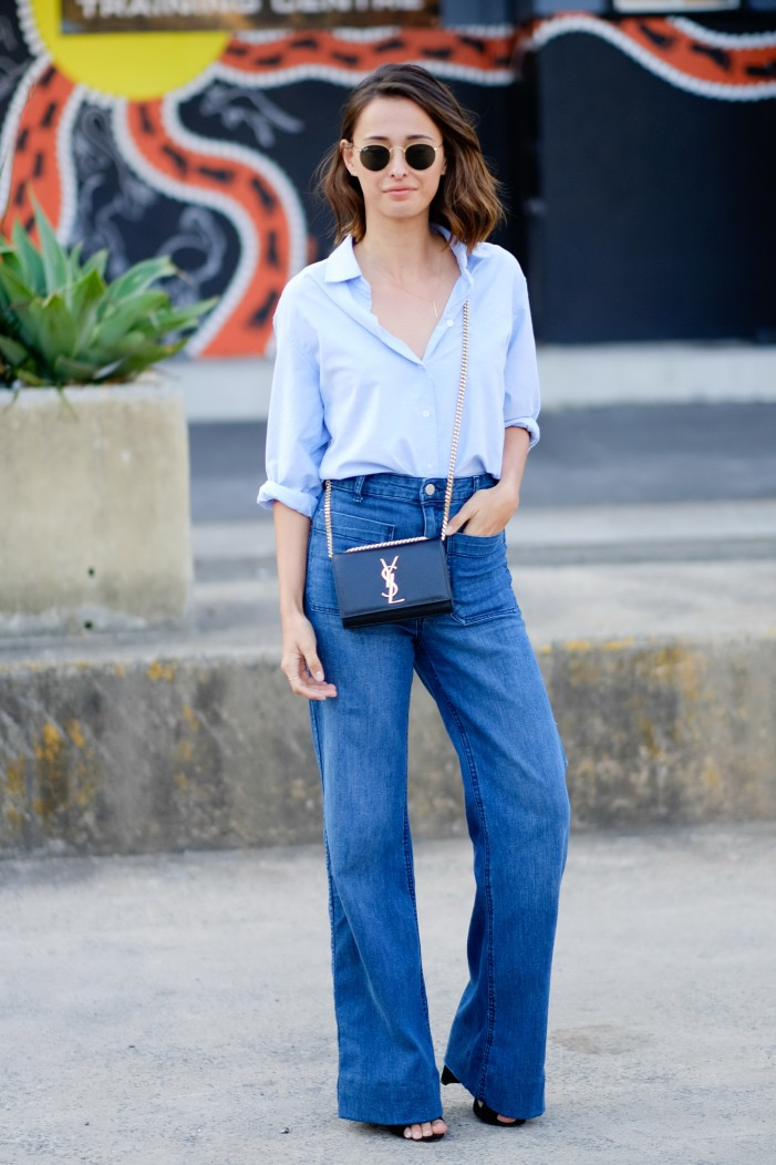 The Best Flared Jeans – Outfit Ideas 2019