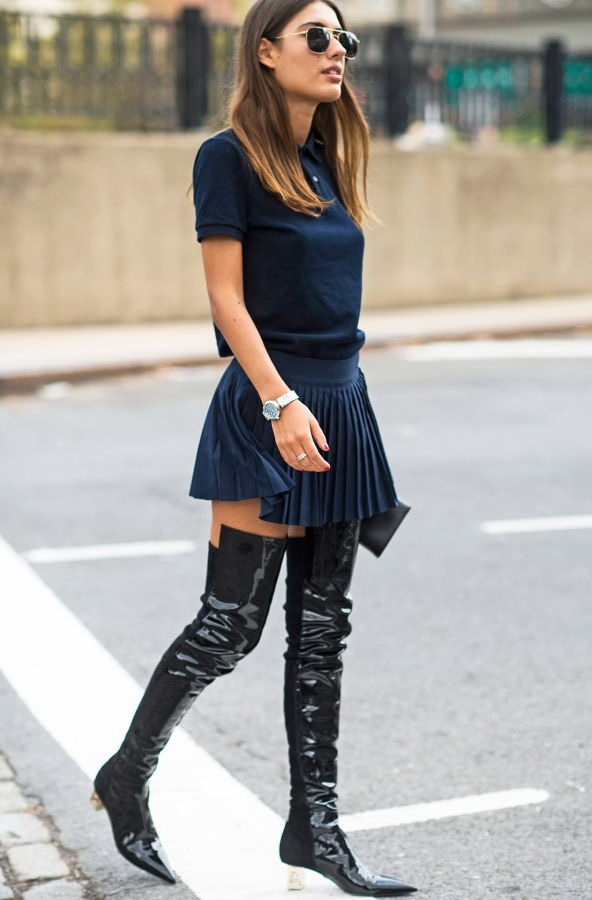 2339bdacedce2 How To Wear Thigh High Boots 2019