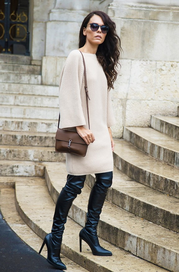 How To Wear Thigh High Boots