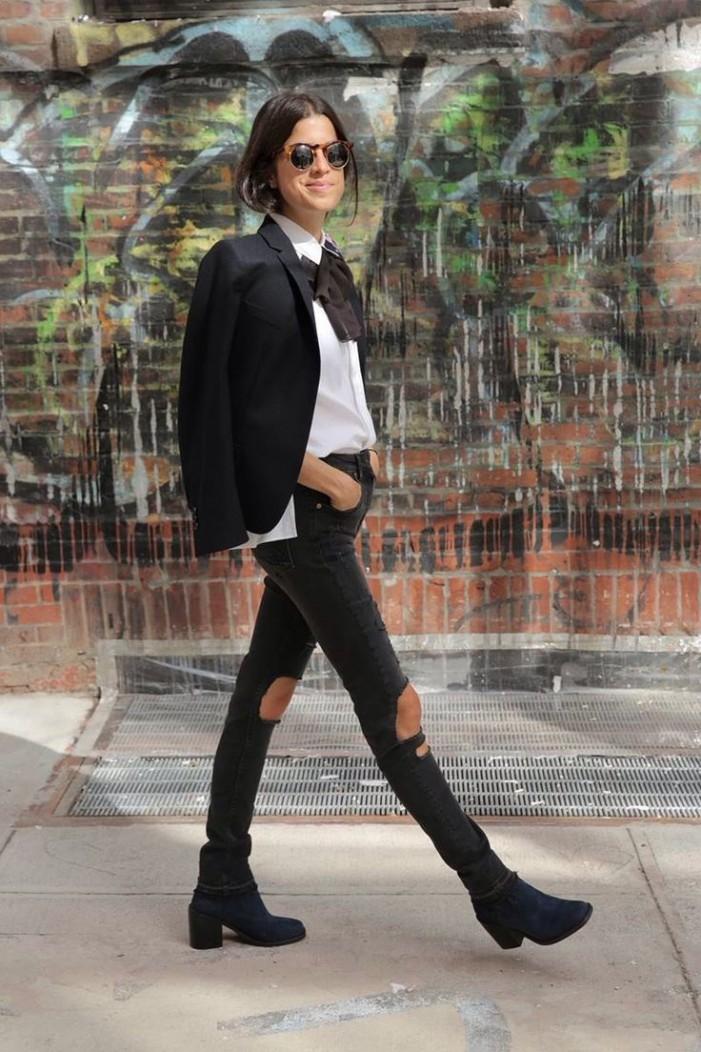 Tie-Neck Blouses - Street-Style 2020