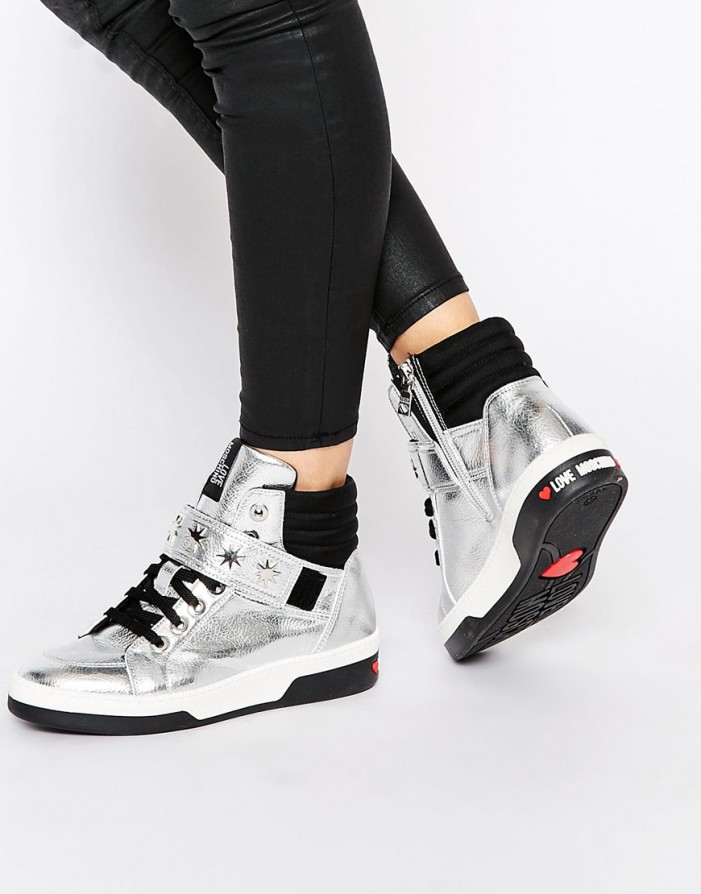 Women's High-Top Sneakers For Winter
