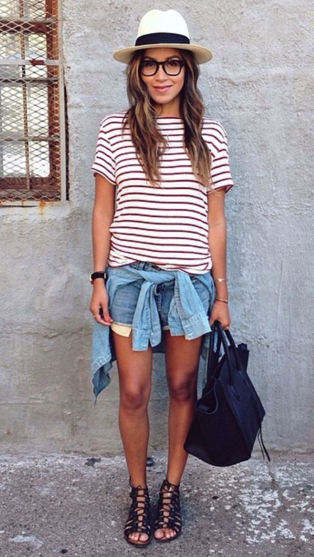 How To Wear Denim Shorts This Summer: My Favorite Tips and Tricks