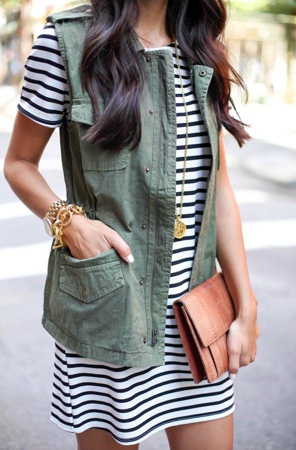 How To Wear Khaki Fashion Trend