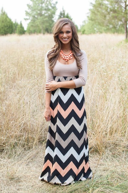 Casual Maxi Dress Outfits