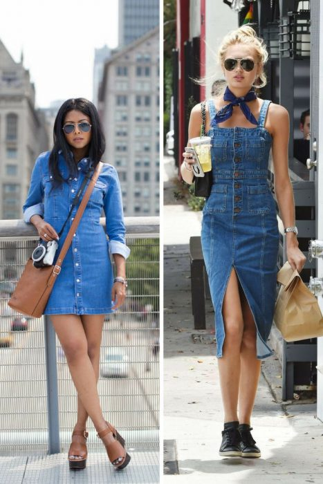 Denim Dresses Are Back In Fashion 2021