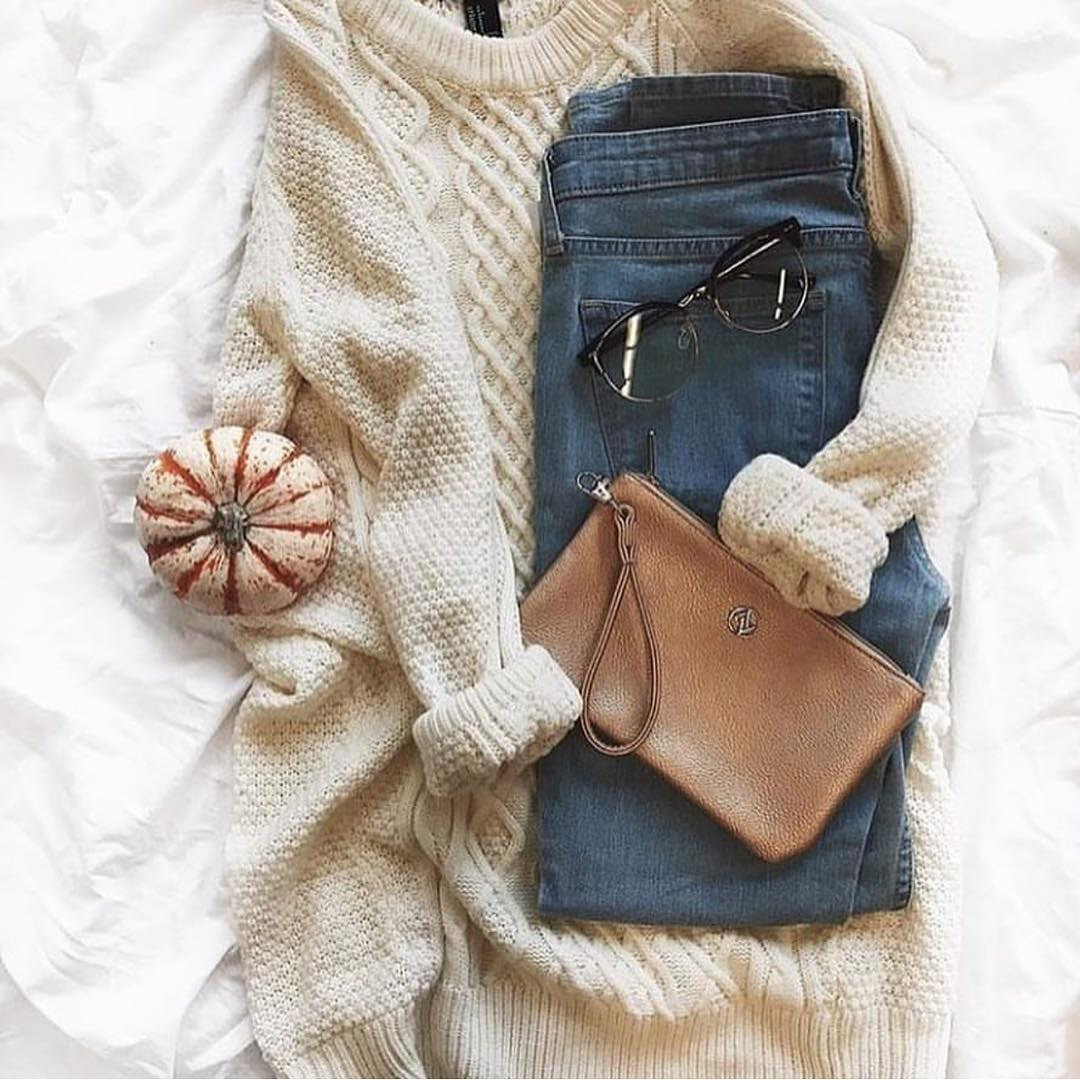 Knitwear And Denim: Casual Day Essentials 2019