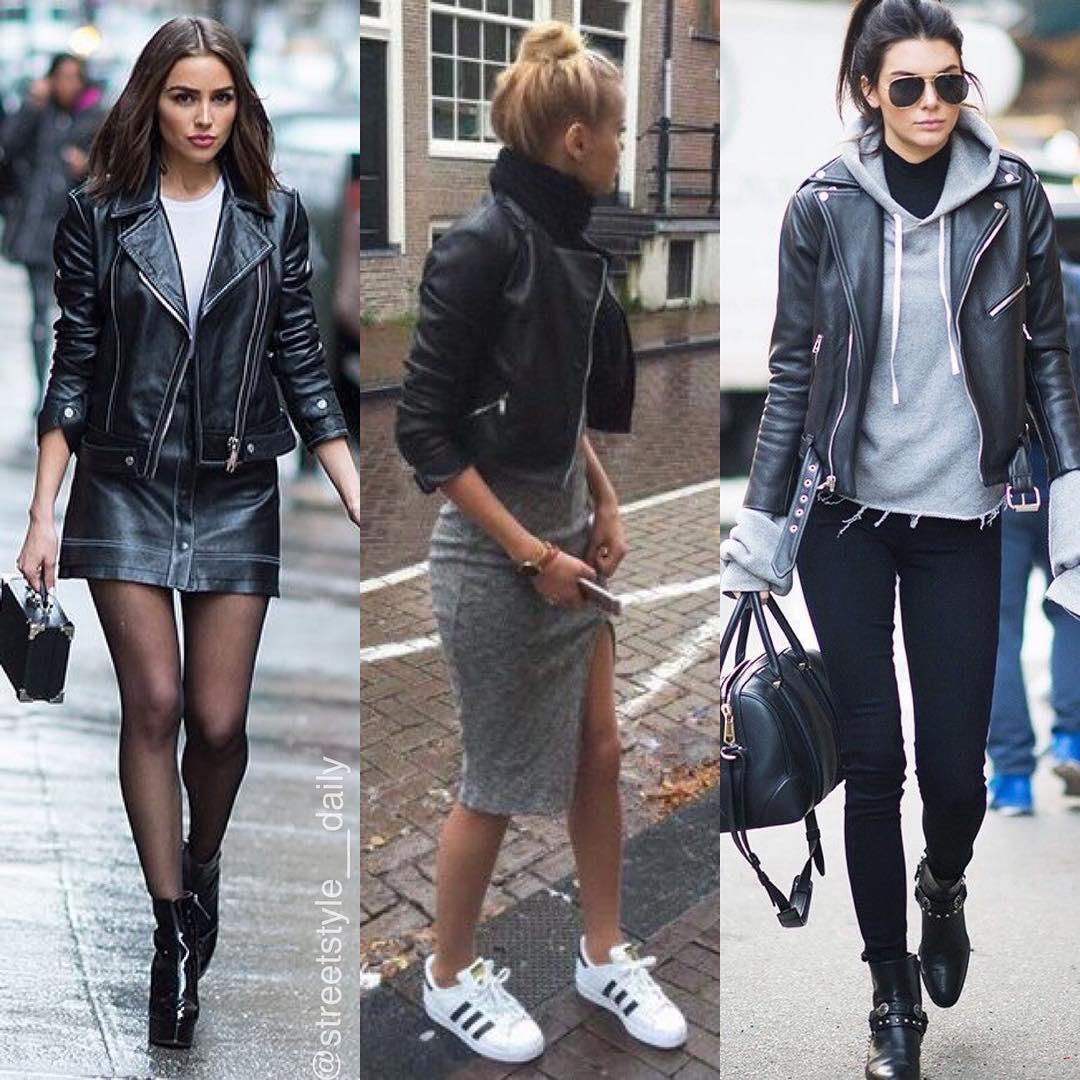 Best Ways How To Wear Classic Black Leather Jacket 2021