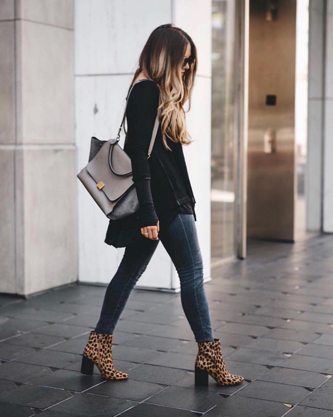 How To Wear Leopard Print Ankle Boots This Fall 2019