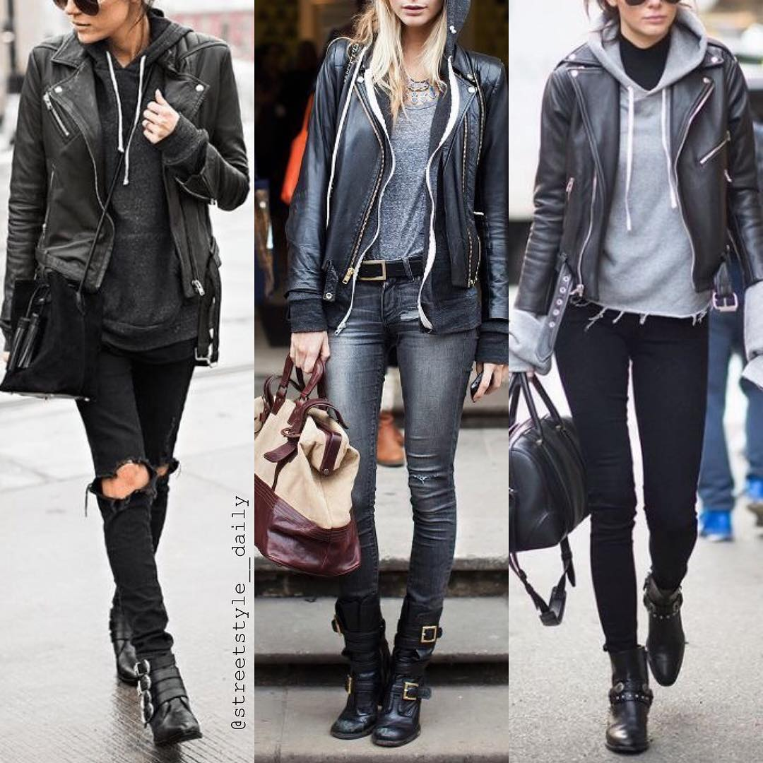 Three Awesome Ways How To Wear Black Leather Jacket 2021