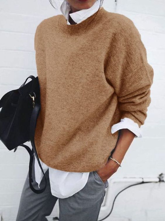 How To Style Sweater and Shirt This Fall 2021